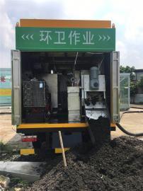 污水处理车配置,污水处理车功能及优势,直接出清水的污水处理车
