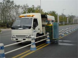 市政专用护栏清污车--8吨洗护栏车