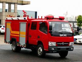 装水2-3吨的水罐消防车|小型东风3吨水罐消防车配置