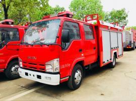 优质JDF5071GXFSG20/Q型五十铃2吨水罐消防车现车有售