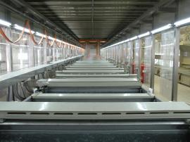 平板电脑铝壳阳极氧化生产线
