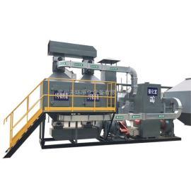 塑料厂催化燃烧装置 蓄热式催化燃烧设备催化燃烧废气处理设备