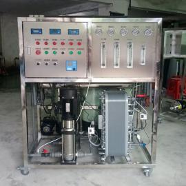 超声波清洗专用一体式一吨EDI超纯水设备可定制