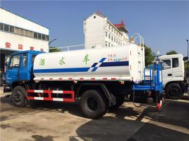 建筑单位用的8方8吨抗旱拉水车-8方抗旱应急运输车