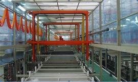 不锈钢水槽电解抛光生产线