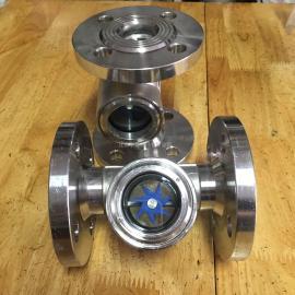 SG-YL41-83不锈钢法兰叶轮视镜