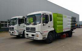 天然气东风5吨清扫车