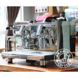 德国原装进口 ECM TECHNIKA PROFI DUE双头半自动专业商用咖啡机