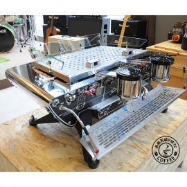 荷兰原装进口KEES Spirit标准版双头专业商用意式半自动咖啡机