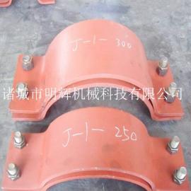四螺栓管夹碳钢扁钢四螺栓管夹J-系列四螺栓管夹