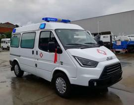 江铃特顺120救护车医院养老院转运病人专用急救车