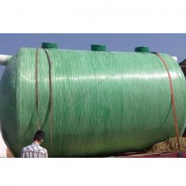 玻璃钢水罐玻璃钢雨水收集池隔油池一体成型定制加工
