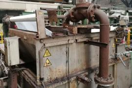 国外进口弧网纸带过滤机维修改造