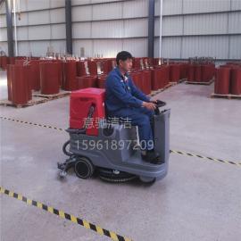 工厂磨砂地面清洗用多功能刷地吸水机凯达仕QX5