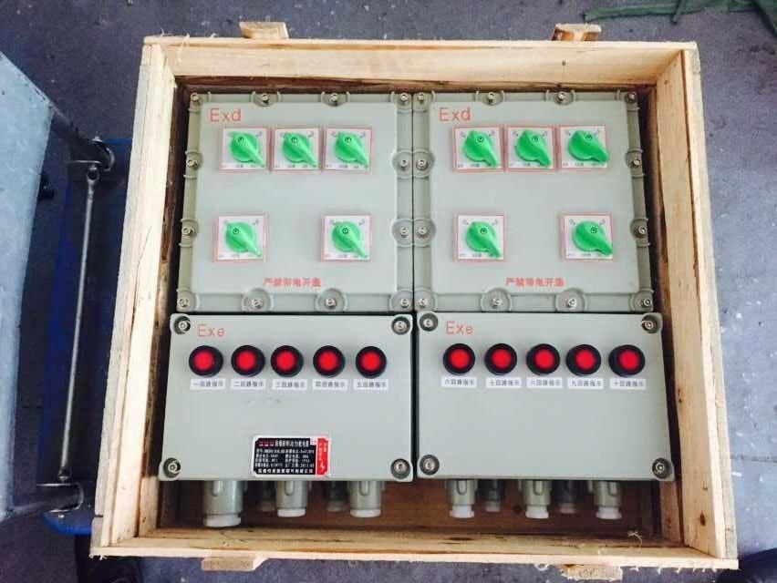 BXM51现场防爆照明配电箱铝合金挂式
