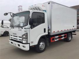 2019年新款庆铃600P冷藏车、五十铃KV600冷藏车配置/图片
