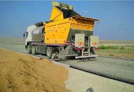 应力吸收层施工 沥青路面同步封层施工