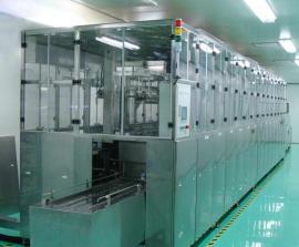 全自动液晶玻璃灌晶后超声波清洗机