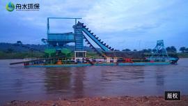 大中小型挖泥船必需品 注意事项 挖深15米淘金船机工