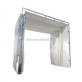 喷漆车间废气处理设备 水帘柜 油帘柜 配套喷漆车间方案