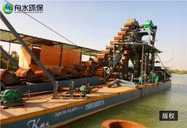 淘金船的规格 挖沙船制造定做 优质取金鼓动溜槽