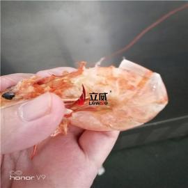 壳肉分离大虾微波烘烤设备