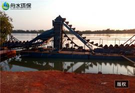 定做挖沙船 舟水采金船配鼓动溜槽 高效率离心机