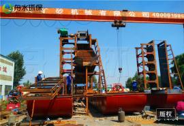 挖泥船在作�I�r的注意事� 采金船配高效率�x心�C 定做鼓�恿锊�