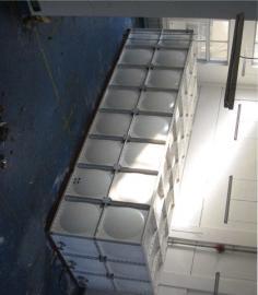 2立方水箱玻璃�水箱��度高水箱中水�理水箱