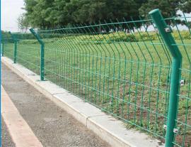 景区绿化带围栏栅栏-鱼塘铁丝围网栅栏-园林小区花坛护栏
