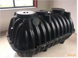工程施工专用:四个厚一体式塑料三格化粪池