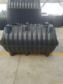 农厕改造标准尺寸塑料一体式三格化粪池厂