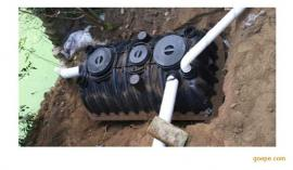环保塑料一体式三格化粪池农厕改造厂