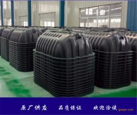 塑料双瓮漏斗式三格式化粪池厂家