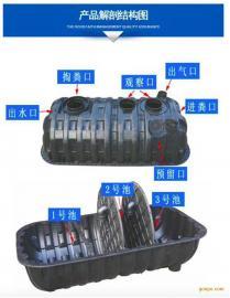 新闻咨询:晟鑫通塑料一体式三格化粪池清理