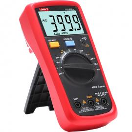 优利德UT136C+数字万用表多功能防烧高精度测电容家用电工万能表