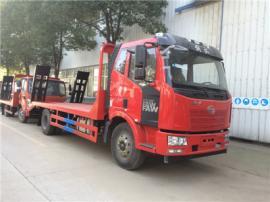 保质保量拉120挖机的平板运输车 拉75的挖机平板运输车