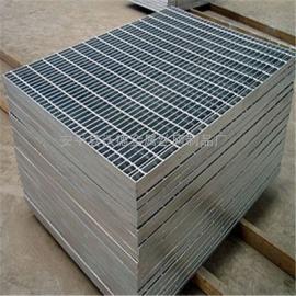 定做热镀锌钢格栅踏步板 不锈钢格栅板 齿形防滑格栅板