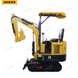 华科1.5吨小型挖掘机 市政园林 小型挖土机 迷你挖掘机