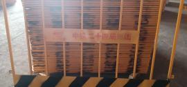 安平莱邦大量生产双板竖管基坑防护栏 单板竖管基坑围栏网
