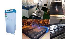 激光切割木板亚克力皮革毛绒布料橡胶板PVC板除味烟雾净化系统