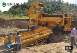鼓动溜槽的安装、处理岩金尾矿鼓动溜槽、生产优质挖沙船