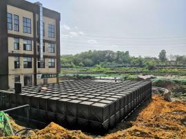 地埋式消防水箱-箱泵一体化给水设备