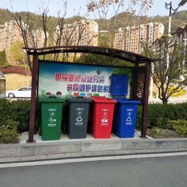 不锈钢垃圾分类亭生产、加工;垃圾分类宣传栏制作