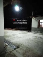 7米60W太阳能路灯 鸿泰12V锂电太阳能路灯