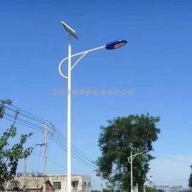 鸿泰120W大功率高光效太阳能路灯 定制9—12米分体式路灯