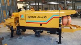 煤矿专用混凝土泵民乐机械欢迎实地考察