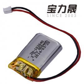 -40℃超低温聚合物锂电池3.7V800mAh低温聚合物锂电生产厂家