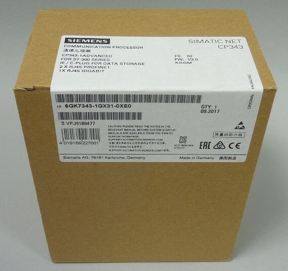 西门子PLC6GK7343-1GX31-0XE0 以太网通讯模块总代理