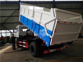全密封自卸式污泥翻斗车--4吨5吨污泥运输车报价及说明